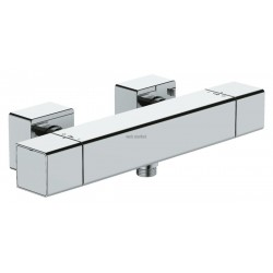 MITIGEUR THERMOSTATIQUE STRAYT DOUCHE MURAL CHROME RÉF. E9096-CP