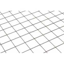 TREILLIS MÉTALLIQUE SIMPLE DIAMÈTRE 3MM MAILLE 100X100MM PLAQUE 2,15 M2 RÉF 12563241005
