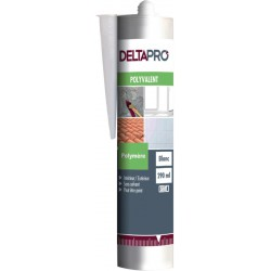 MASTIC UNIVERSEL JOINTS & COLLAGE DELTAPRO CARTOUCHE DE 290ML BLANC