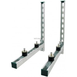 KIT SUPPORT CLIM ISO RAIL 41 X 21 AV CONSOLE WM35 L 500 MM.