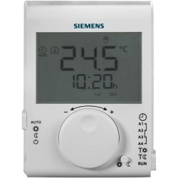 THERMOSTAT D'AMBIANCE GRAND LCD À PILES JOURNALIER RDJ100 / RÉF S55770-T379
